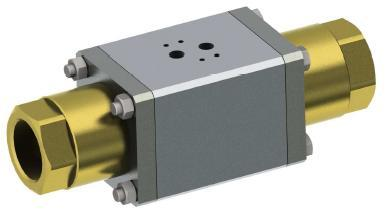 air operated coaxial valve
