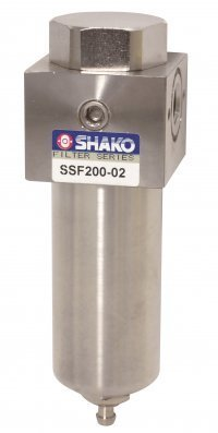 High Pressure Air Filter Stainless Steel