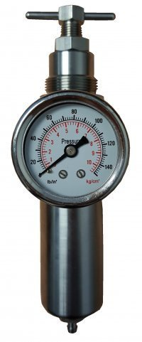 Miniature Stainless Steel Air Filter Regulator