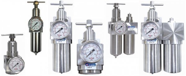 Stainless Steel Filters Regulators and Lubricators