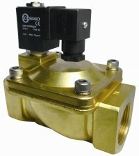 brass solenoid valve 2/2 way normally closed