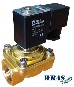 WRAS water solenoid valve example