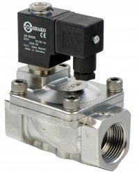 "1"" stainless steel water solenoid valve"