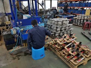 Z Tide Taiwan pipework assembly at Factory