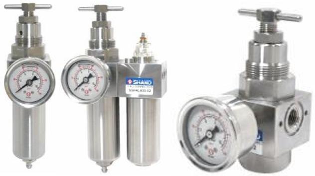 High Pressure Lubricator : Stainless steel frl s